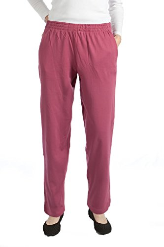 Pembrook Womens Jersey Knit Elastic Waist Pull On Pants