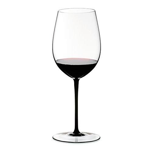 Black Flutes Stem (Riedel Sommeliers Black Tie Bordeaux Grand Cru Glass)