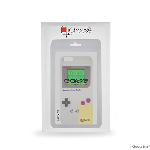 iPhone 7 Plus Controlador de Consola Estuche de Silicona / Cubierta de Gel para Apple iPhone 7 Plus (5.5) / Protector de Pantalla y Paño / iCHOOSE / Gameboy Gameboy