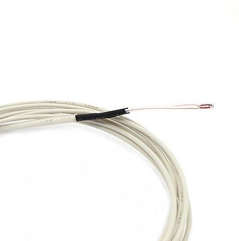 anycubic termistor NTC 3950 100K Con 1 metro de cableado y Cabezal ...