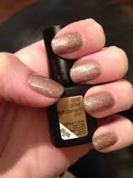 Sensationail Color Gel Polish - Gold Glitter - 0.25 Fl. Oz.