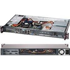 Supermicro SC505 203B - Rack-mountable - 1U - mini ITX - non-hot-swap 200 Watt - black
