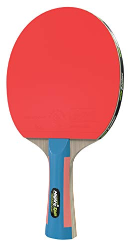 MightySpin Hurricane Table Tennis Paddle - Advance Level Ping Pong Racket w/ITTF 2.1 mm Rubber - Killer Spin Speed Ping Pong Paddles - Loops SureSpeed Rackets Technology
