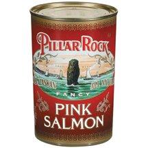 Pillar Rock Pillar Rock Pink Salmon, 14.75 Oz, Pack Of 24