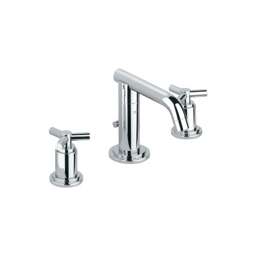 Grohe K20072-18026-000 Atrio Lavatory Faucet with Handles (Grohe Atrio Trio)