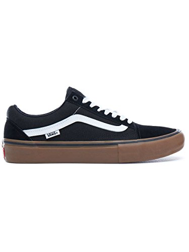 Black Vans Gum Pro Skool medium Chaussures white Old wUUIqr4