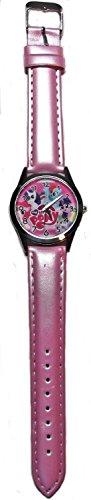 Main Street 24/7 My Little Pony Fashion Pink Leather Band Wrist Watch