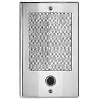 Nutone Door Speaker In Polished Nickel Finish