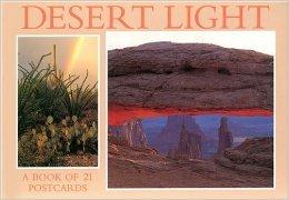 Desert Light, a Book of 21 Postcards