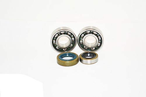 Fits Stihl TS400 Cut Off Chop Saw Replacement Crankshaft Bearings And Seals Replaces Stihl Part  9503-003-0341 Crankshaft Bearing Seal Flywheel Side 9640-003-1745 Clutch Side 9640-003-1570 / Fits Stihl TS400 Cut Off Chop Saw Replac...