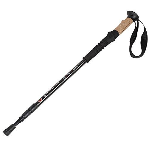 New 2 Walking Hiking Sticks Alpenstock Adjustable