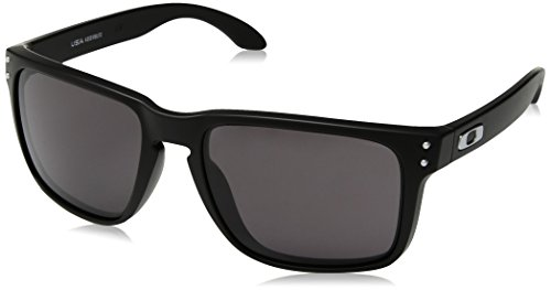 - Oakley Men's OO9417 Holbrook XL Square Sunglasses, Matte Black/Warm Grey, 59 mm
