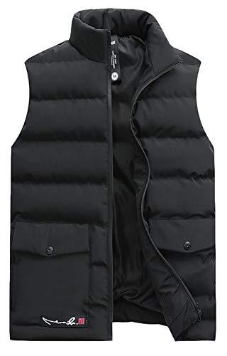 [해외]코 슨 맨 즈 캐주얼 수납 가능 경량 다운 조끼 레저 야외 접이식 복어 조끼 / KOESON Men Casual Packable Lightweight Down Vest Leisure Outdoor Foldable Puffer Waistcoat
