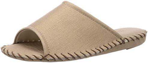 [パンジー] メンズルームシューズ スリッパ 室内履き 履きやすい 手編み 滑り止め付き PN9731