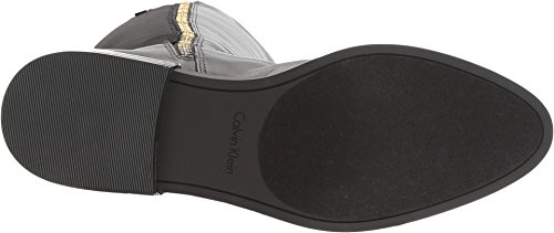Cow Priscila Calvin Womens Neoprene Silk Wc Black Klein xwxapqfC