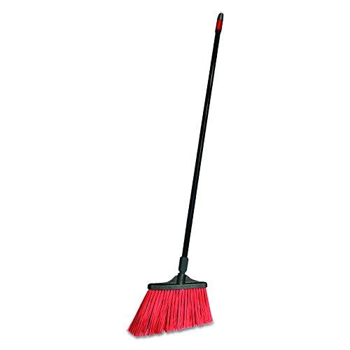 O-Cedar Commercial CB064205 MaxiStrong Angle Broom, Polypropylene Bristles, 56'' Handle, Black (Case of 6) by O-Cedar Commercial