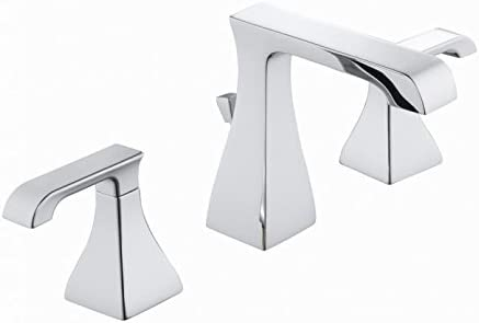 Glacier Bay 67576W-6001 Adelyn 8 2-Handle High Arc Bathroom Faucet, Chrome