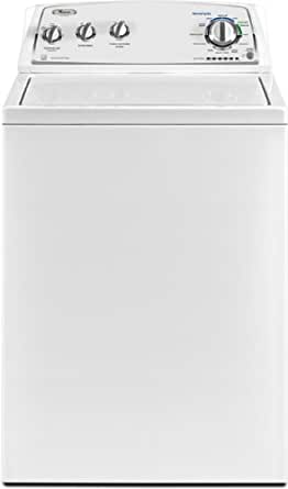 Whirlpool WTW4850XQ 3.4 Cu. Ft. White Stackable Top Load Washer - Energy Star