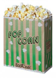 EcoCraft Popcorn Bags 130oz Case of 500