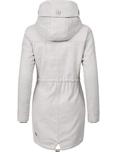 Donna A Xs Lana Da Coat Ragwear Grigio Elba xxl Invernale Cappotto 7 Di Colori 6wq8REq