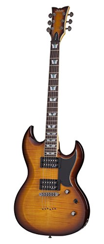 Schecter Omen Extreme S-II Solid-Body Electric Guitar, VSB