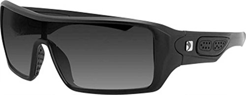 Bobster 4003385 Paragon Sunglasses-Matte Black with Smoked ()