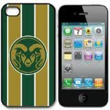 NCAA Colorado State Rams Iphone 4 and 4s Case Cover
