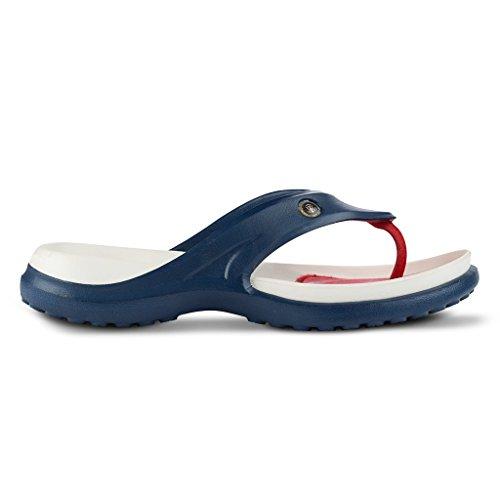 Jellys Hawaiano Nuovo! Scivolare Patriottico Convertibile (rosso / Bianco / Blu) ... Aaahs