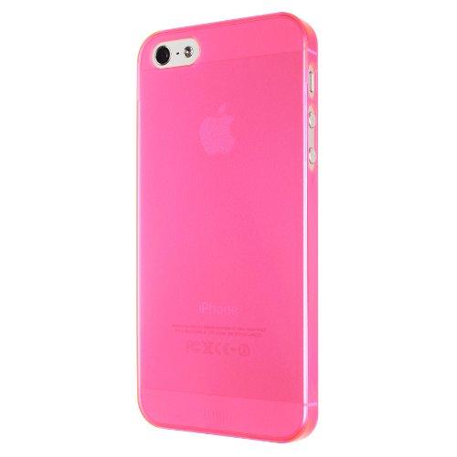 Artwizz 1025-SJCL-P5-NP Artwizz SeeJacket Clip Light  für Apple iPhone 5/5S (Neon Pink )