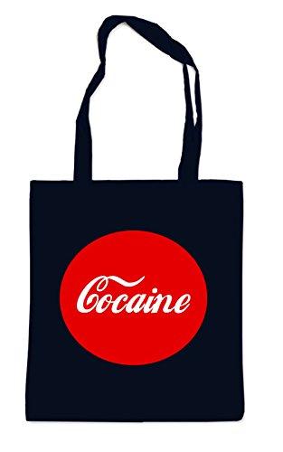 Cocaine Button Bag Black