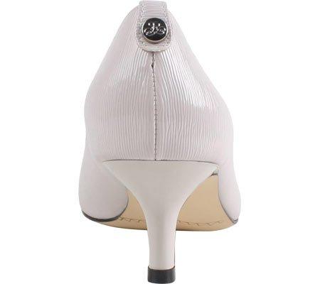 J Dress Women's Patent Faux Cement Pump Renee Crinkle Braidy Leather 7HHWnBxO
