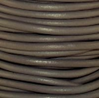 Erica Leather (#129 Erica Round Leather Cord 3mm (1/8