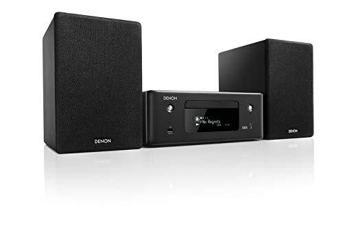 Denon CEOL N-10 Stereo Set met CD Speler & Radio, Microset met Bluetooth, WiFi, Airplay 2, Muziek Streamen, HEOS…