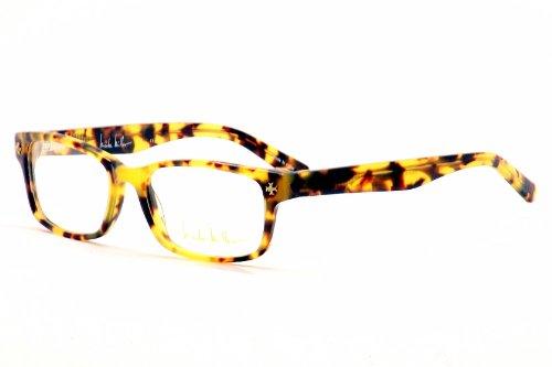 nicole miller greene eyeglass frames frame tortoise size 5114mm