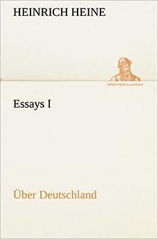 Book Essays I: Über Deutschland