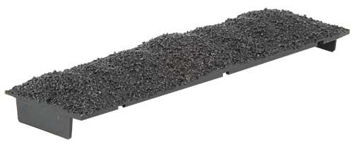 HO Scale Coal Load for Kadee 50-Ton AAR Hopper; pkg(6) -- Lump/Egg Coal