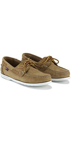 Henri Lloyd 2016 Arkansa Deck Shoe Brown Nubuck F94412 Boot/Shoe Size UK - UK Size 7