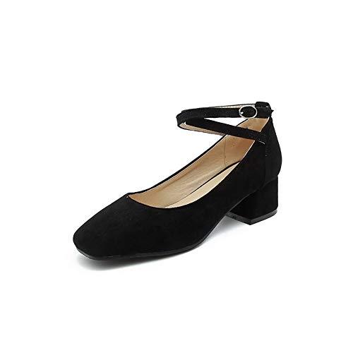 EU 36 Compensées DGU00456 Noir Sandales Femme Noir 5 AN Wx87BvnYv