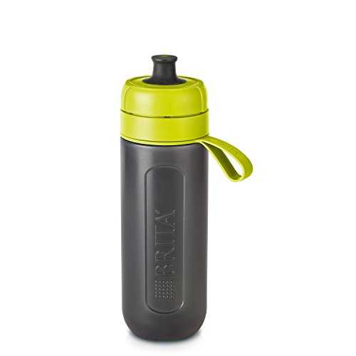 BRITA Fill and Go Active Sports Water Filter Bottle BPA Free Includes 1...