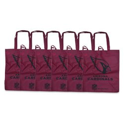 - Arizona Cardinals Printed Non-Woven Polypropylene Reusable Grocery Tote Bag