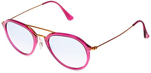 Grey 4253 Fuxia Shiny Ban Ray Rose Sonnenbrille RB xqZZvt0F