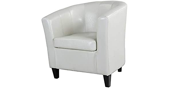 Amazon.com: Monowi Antonio Tub Chair - Creamy White | Model ...