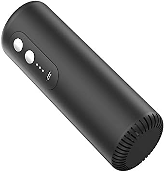 CLIPSEAM Purificador de Aire Mediante Ozono e Iones Negativos, Color Negro, Ideal para purificar Espacios en Presencia de Personas y Animales (Clip1 10m²)