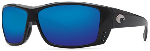Costa Del Mar Cat Cay 400G Cat Cay, Black Blue Mirror, Blue Mirror