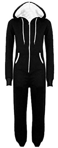 Kapuzenstrampler Chocolate Jumpsuits M Unisex ® All 5XL Pickle One In One Plus Black Piece Size Neue 1CTYwq1