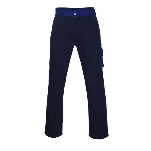 Mascot 00979-430-111-90C66''Torino'' Trousers, Marine Blue/Cornflower Blue, L90cm/C66