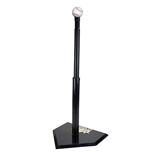 Single Batting Tee - Crown Sporting Goods Youth Adjustable Height Baseball Batting Tee