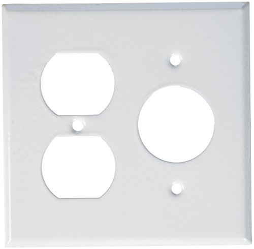 Morris 83552 Painted Steel Wall Plates, 2 Gang, 1 Duplex, for sale  Delivered anywhere in USA