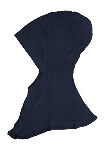 Ninja Cotton Jersey Inner Neck Under Scarf for Hijabs Navy Blue