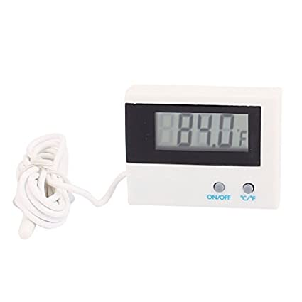 DealMux ST-1A Home Office Auto Display LCD Termômetro Digital C / F Branco